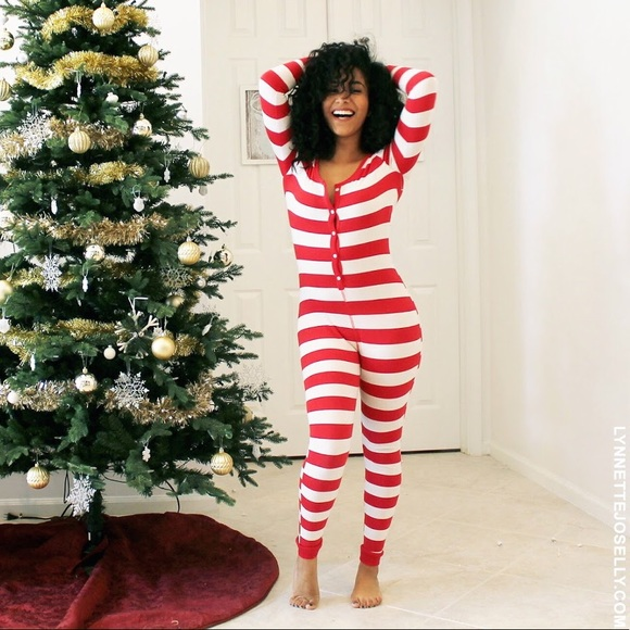 Christmas Pajama Onesies.Old Navy Red White Stripe Onesie Christmas Pajamas
